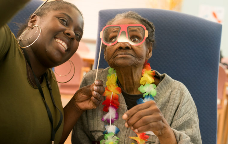 Nubian Life, Cocktails in Care Homes Party