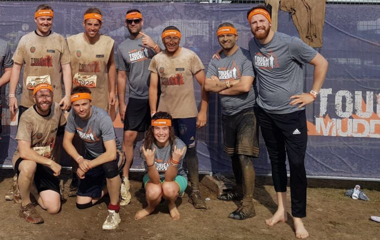 Curo Construction Tough Mudder after