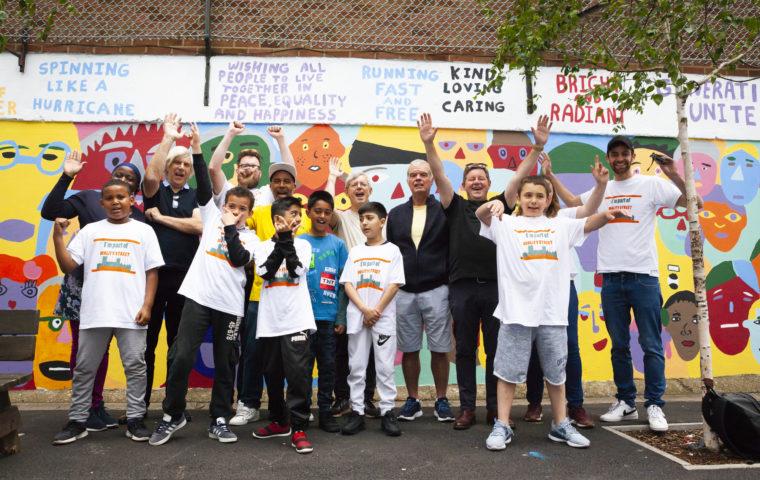 LOWFC mural team 2 SamiaMeah_MagicMeGeorgeMitchellPrimary_15.06.19