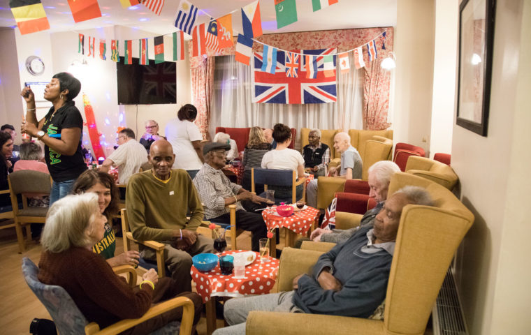 International Theme party at George Mason Lodge Photo Credit Roxene Anderson
