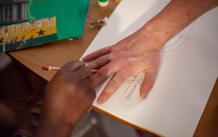 Hand drawing photo credit Magic Me