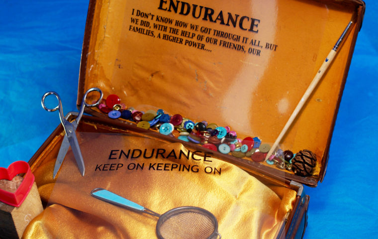 Endurance - artwork from our women's project Heartfelt photo credit Magic Me