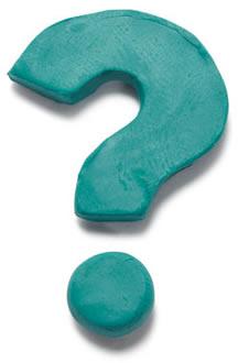 Magic Me brand icon question mark