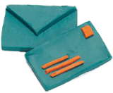 Plasticine model of envelopes