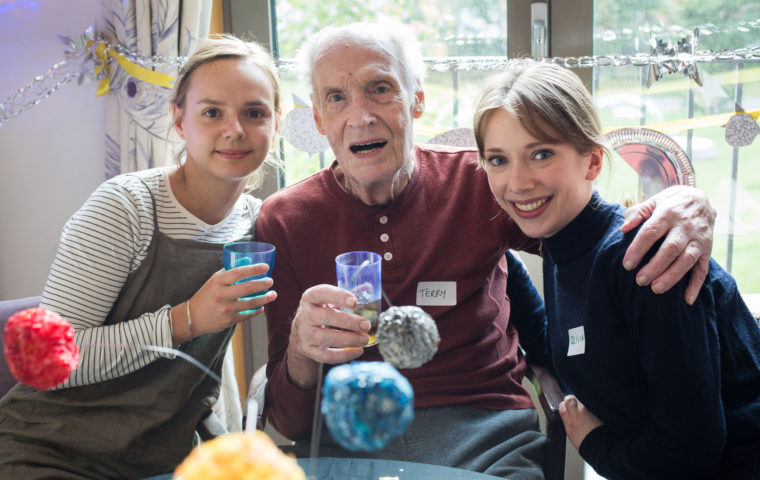 Cocktails in Care Homes - three cheers